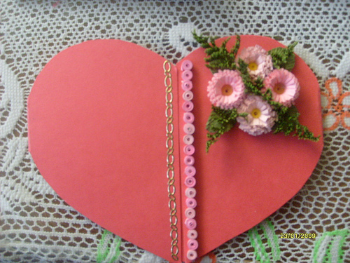 tarjeta de corazon