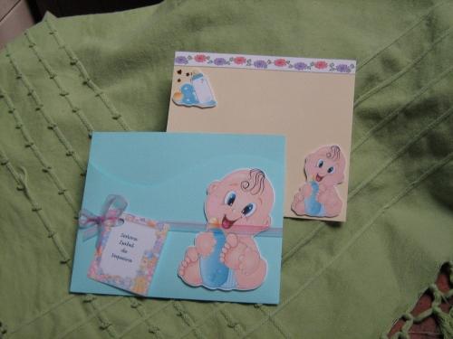 Moldes gratis para tarjetas de baby shower - Imagui
