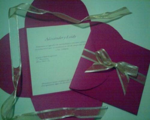 Invitaciones de boda como hacer las lorenapm23 pelautscom - Como hacer tarjetas de boda ...