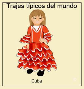 Traje t�pico de Cuba