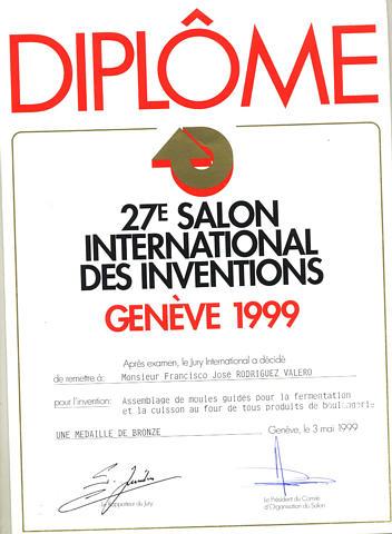 Galardon 27th Feria Suiza para Inventor Colombianio