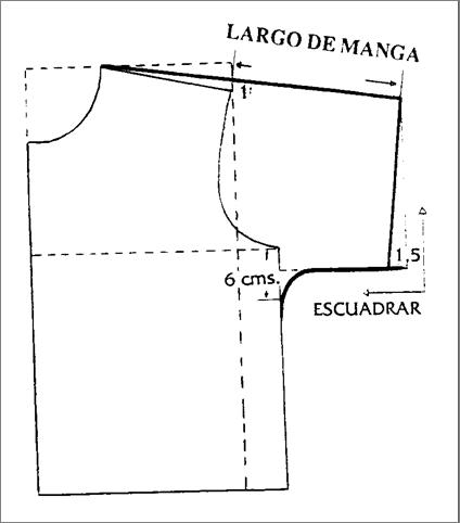 Patrones blusas - Imagui